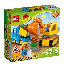 lego duplo truck u0026 tracked excavator 10812 toys r us australia