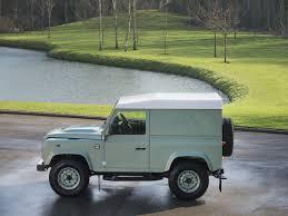green land rover defender stock tom hartley jnr