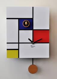 Modern Italian Furniture Nyc by Mondrian Modern Cuckoo Clocks Made In Italy Midcentury