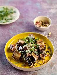 cuisiner aubergine salade d aubergines à l orientale régal