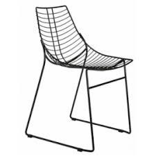 chaise m tallique chaise design métal pour restaurant avec aspect industriel banketshop