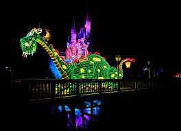electric light parade disney world magic kingdom tombricker