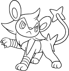pokemon card coloring pages 10 pokemon luxio images pokemon