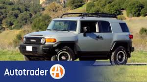 toyota jeep black 2013 toyota fj cruiser suv new car review autotrader youtube