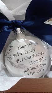memorial ornament in memory keepsake your