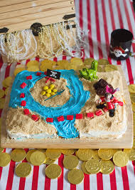 yo ho ho and a pirate treasure map cake bebehblog