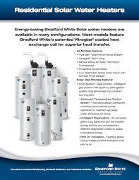 solar saver models open loop bradford white water heaters