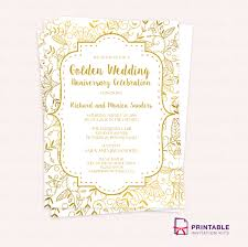 50th wedding anniversary invitations walgreens invitations templates