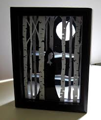 Halloween Decorations Arts And Crafts Hudson Valley Etsy Team New York Diy Tutorial Shadow Box