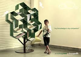 Tree Of Knowledge Bookshelf Knowledge Tree On Behance