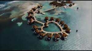 sandals royal caribbean over water suites youtube