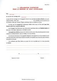 declaration de mariage formulaire d 1b déclaration d intention pour le mariage de deux