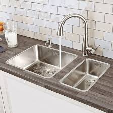Kitchen Wall Faucet Kitchen Grohe Parkfield With Grohe Kitchen Faucet And White Brick