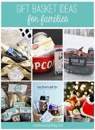 25 unique family gifts ideas on themed gift baskets