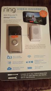 ring wi fi enabled video doorbell chime year of free cloud