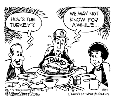 the thanksgiving table politics at the thanksgiving table a crain u0027s editorial cartoon