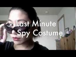 Spy Halloween Costumes Girls Minute Spy Halloween Costume Hair U0026 Makeup Tutorial