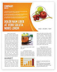 nutrition brochure template balanced nutrition newsletter template for microsoft word adobe