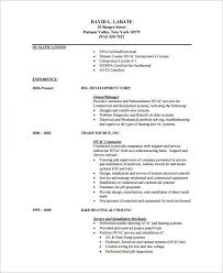 hvac resume template hvac resume templates template 7 free sles exles