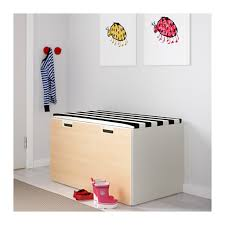 stuva storage bench white black ikea