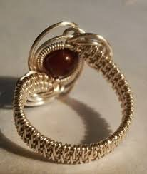 jewelry wire rings images Perfectly twisted handmade wire wrapped beaded and gemstone jpg