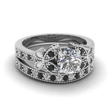 Black Diamond Wedding Ring Sets by Buy Classy Black Diamond Engagement Rings Online Fascinating