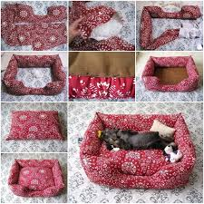 fabric pet sofa bed