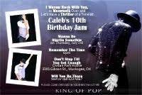 michael jackson birthday party invitations michael jackson photo