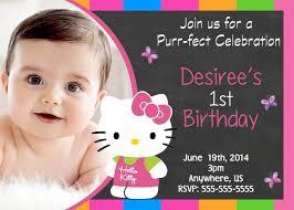 how to create hello kitty birthday invitations templates