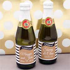 wholesale sparkling cider mod gold black and white striped mini sparkling cider