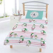amazon com sarah u0026 duck junior toddler duvet cover and pillowcase