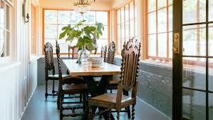 Beachy Dining Room by Beach Shack Makeover Sunset