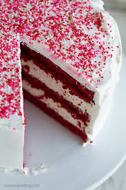 red velvet ice cream cake recipe taste and tell
