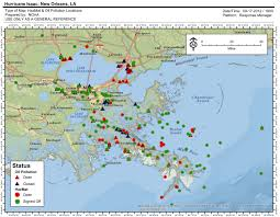 Hurricane Map Weeks Later Responders Still Dealing With Pollution Left In
