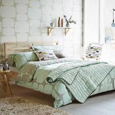 lohko mint patterned bedding