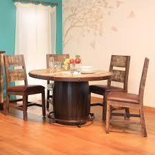 international furniture direct 900 antique 5 piece dining set with