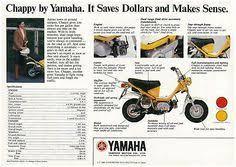 yamaha chappy 1975 usa mini bike and scooters