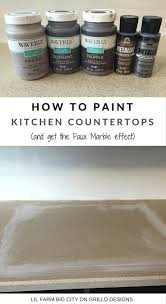 Paint Kitchen Countertops by How To Paint Kitchen Countertops