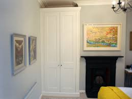 Bespoke Fitted Bedroom Furniture White Classic Fitted Shaker Wardrobe Bespoke Furniture Fitted
