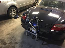 Porsche Boxster Bike Rack - bird bike rack for boxster cayman 987 rennlist porsche