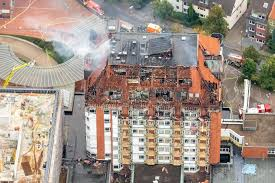 Bergmannsheil Bochum Haus 3 Klinikbrand Sachschaden In Dreistelliger Millionenhöhe Waz De