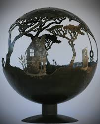 Fire Pit Globe by The Fire Pit Artist Hand Made Firepits And Water Pits By Matt