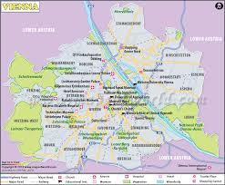 map of vienna vienna map map of vienna city austria