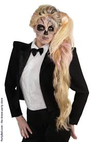 halloween costumes blonde wig 10 best lady gaga images on pinterest halloween ideas costumes