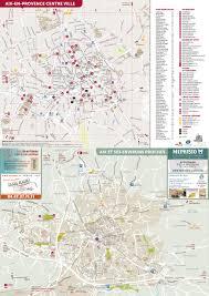 Provence France Map Aix En Provence Tourist Map