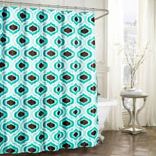 Turquoise Shower Curtains Buy Turquoise Fabric Shower Curtain From Bed Bath Beyond