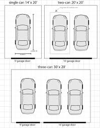 Single Garage Plans Typical Garage Sizes 28 Normal 2 Car Garage Size The Dimensions Of