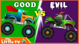 monster trucks clipart monster truck chase good vs evil monster trucks for children