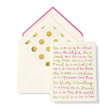 kate spade greeting card u2013 happy birthday p s floral design