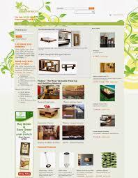 eco home store website design aahha designs